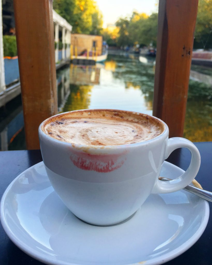 Cappucino, Summerhouse, Little Venice, London, UK